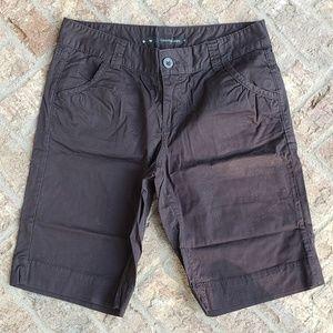 Calvin Klein Jeans black Burmuda shorts 10
